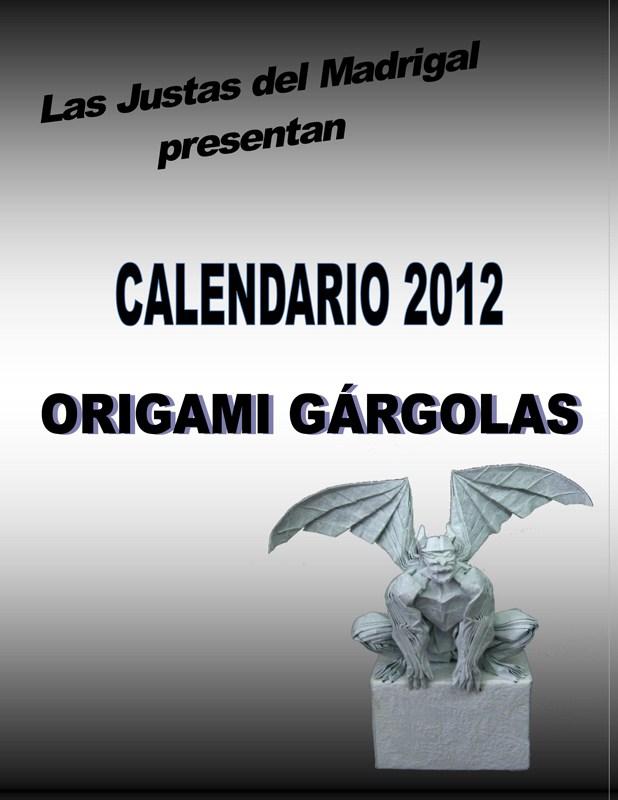 Calendar 2012 - La Justa de las Gárgolas
