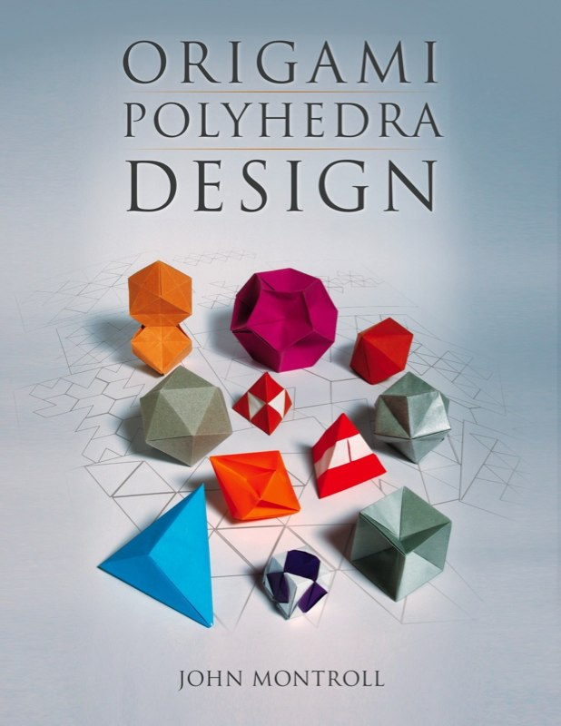 Book Cover Layout Xml ~ Book origami polyhedra design montroll