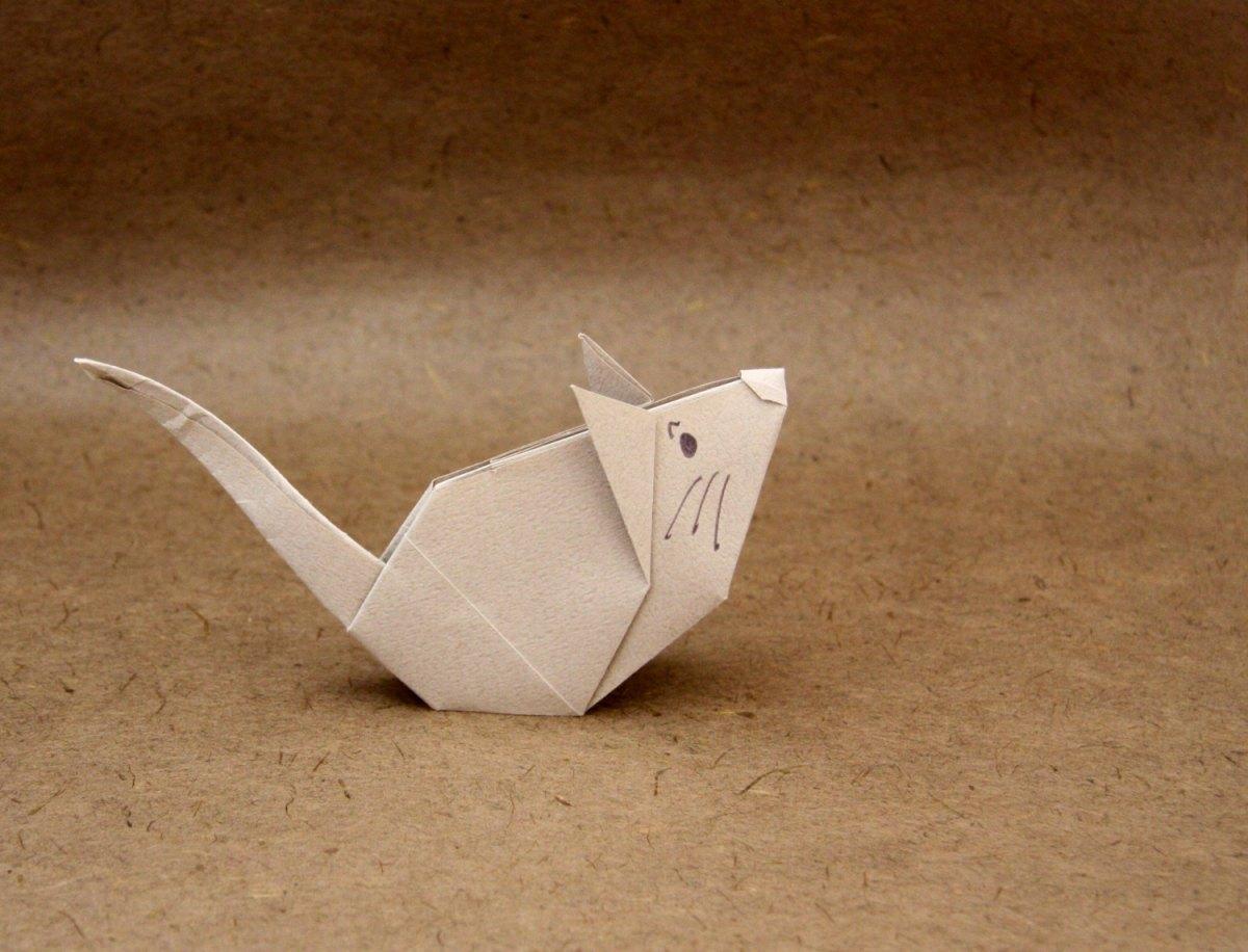 Souris nicolas terry - Pliage origami simple ...