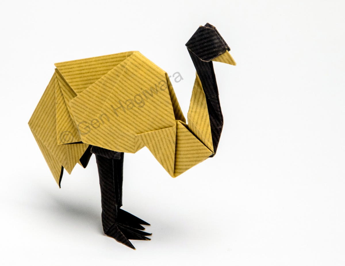 8 spirits of origami by gen hagiwara