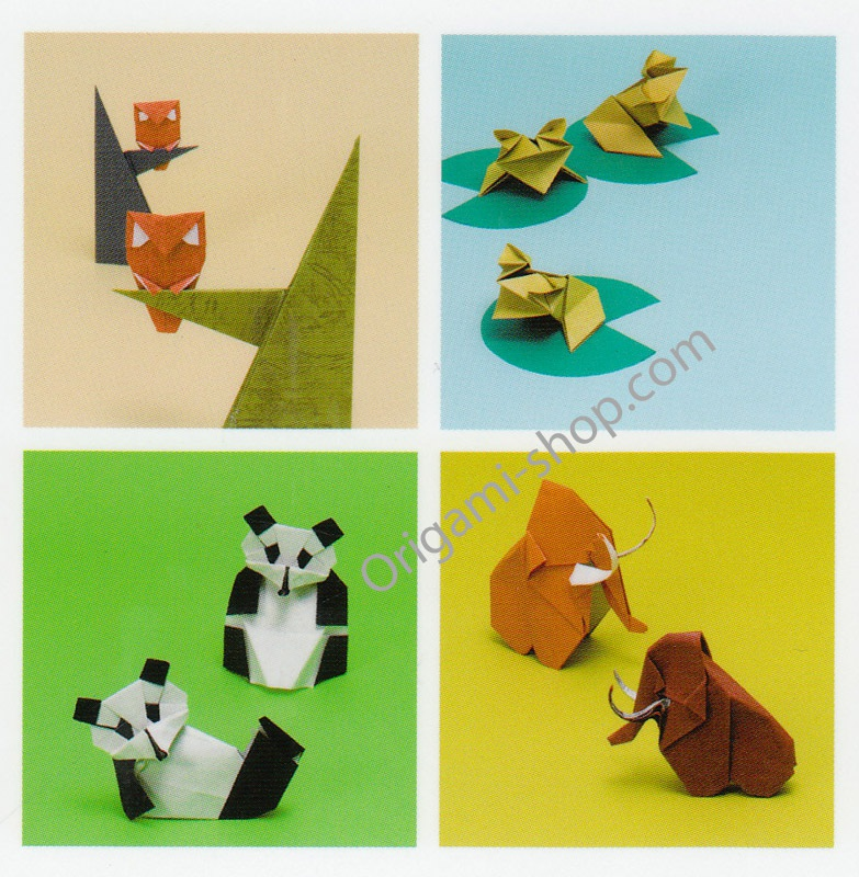 origami book cute cool and beautiful origami animals