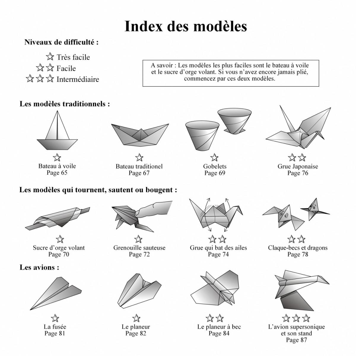 origami facile japonaise