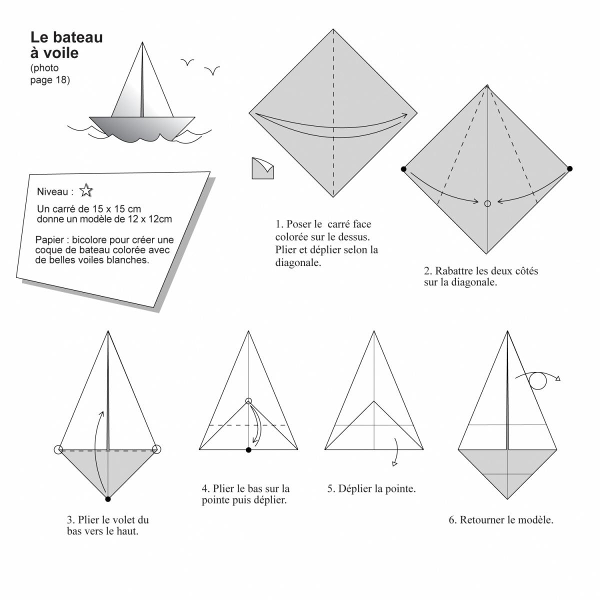 livre origami d couvrez l 39 origami nicolas terry. Black Bedroom Furniture Sets. Home Design Ideas
