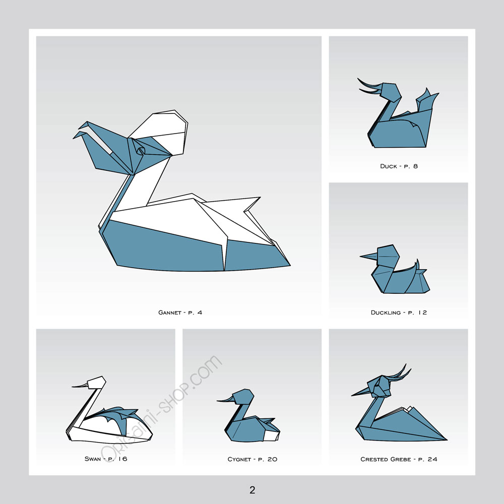 On the Water - Origami Waterfowl by Stefan Delecat - photo#48