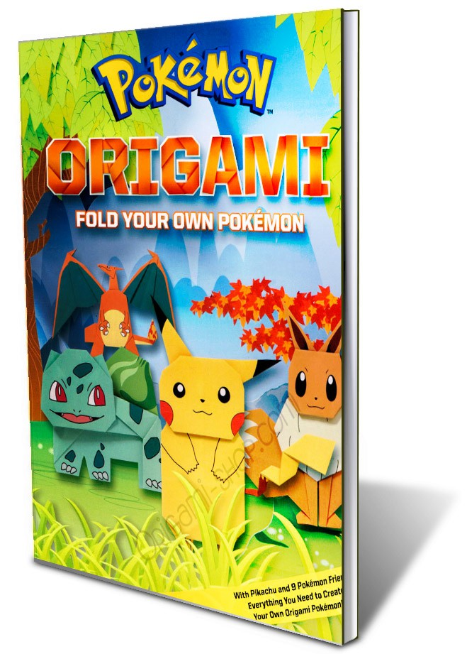 book origami fold your pokemon