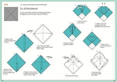 animaux pr historiques en origami facile et pour les enfants. Black Bedroom Furniture Sets. Home Design Ideas