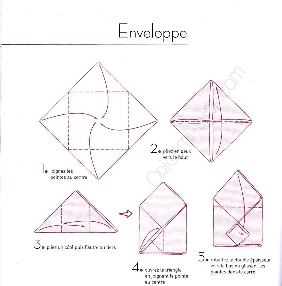 origami livre pliages de serviettes faciles. Black Bedroom Furniture Sets. Home Design Ideas