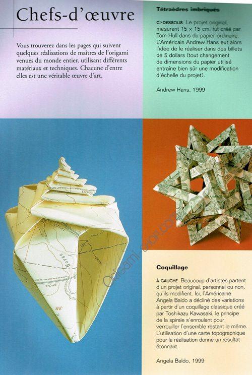 origami l 39 art du papier pli. Black Bedroom Furniture Sets. Home Design Ideas