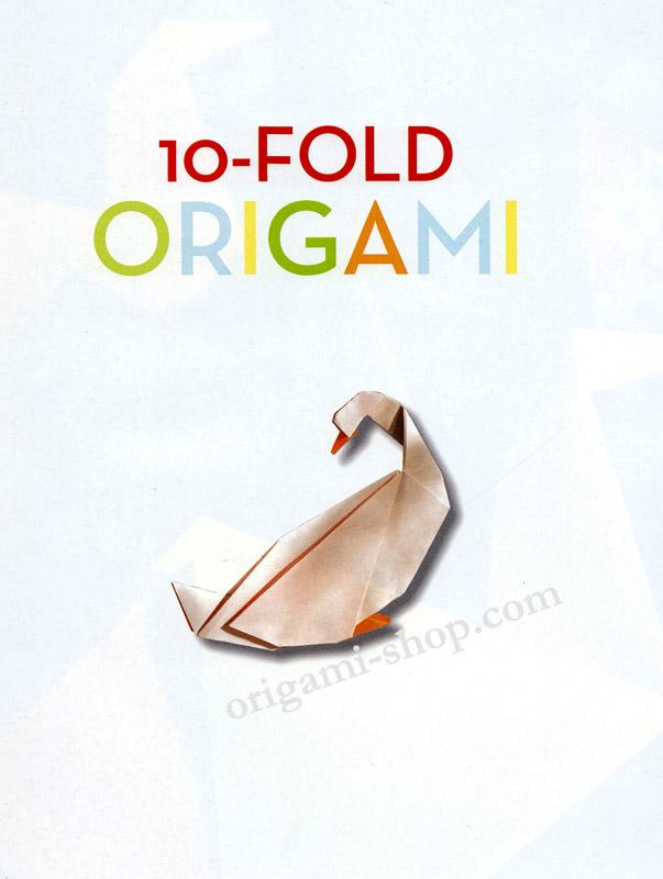 book 10fold origami engel