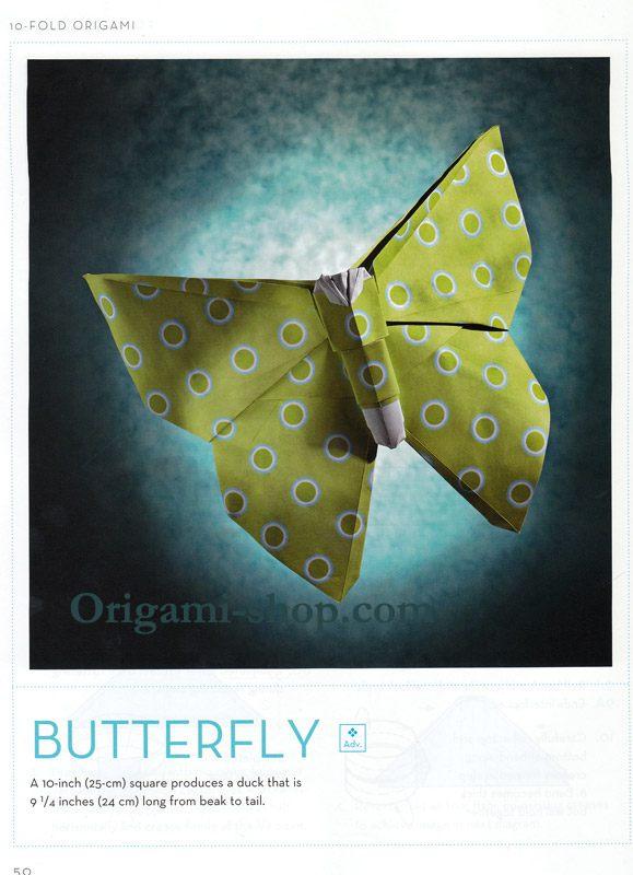 livre 10fold origami engel