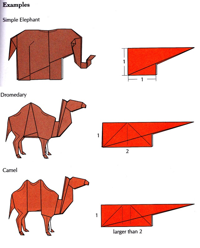 livre origami and math simple to complex