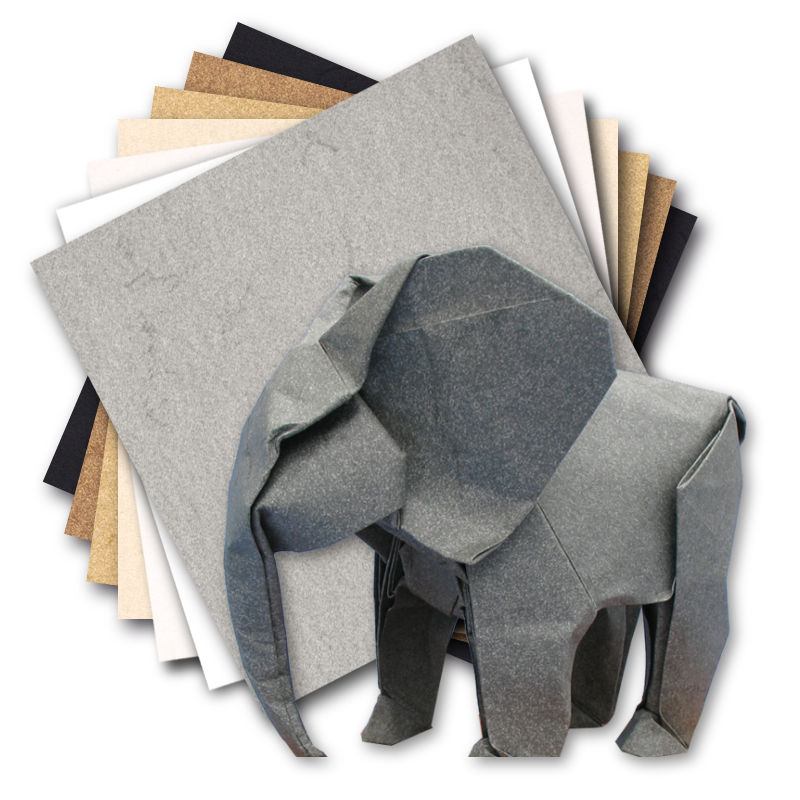 Pack: Elephant Hide - 7 colors - 7 sheets - 30x30 cm (12