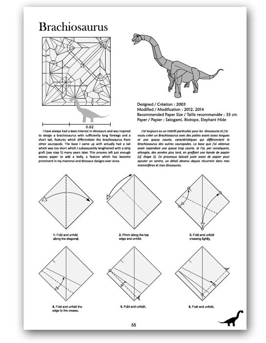 How to fold origami velociraptor - Apps on Google Play | 700x544