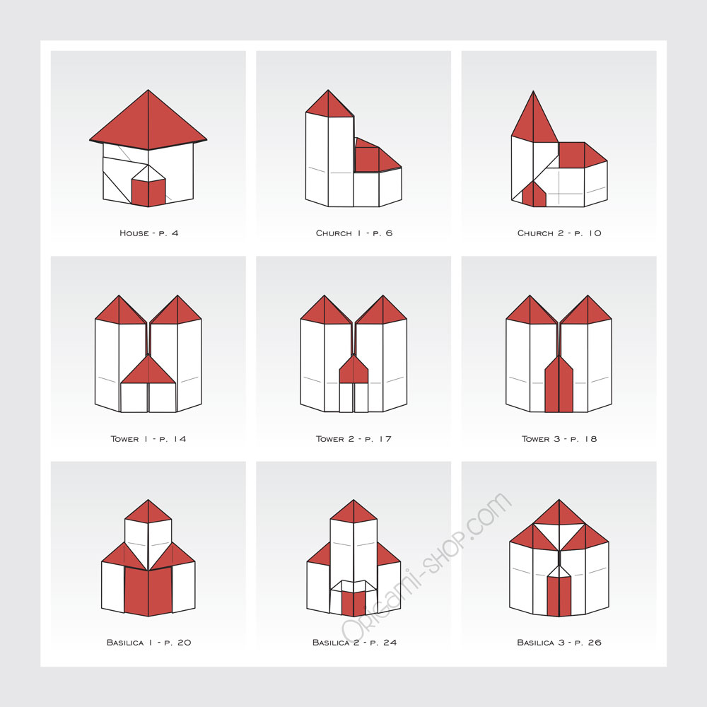 Origami building 3d gallery craft decoration ideas origami building 3d  image collections craft decoration ideas origami