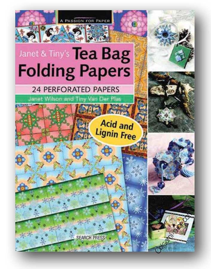 janet tiny 39 s tea bag folding papers. Black Bedroom Furniture Sets. Home Design Ideas