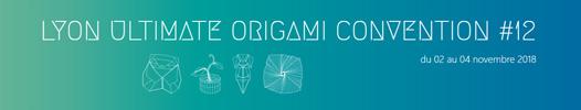 12ième convention d'origami à Lyon du 2 au 4 novembre 2018