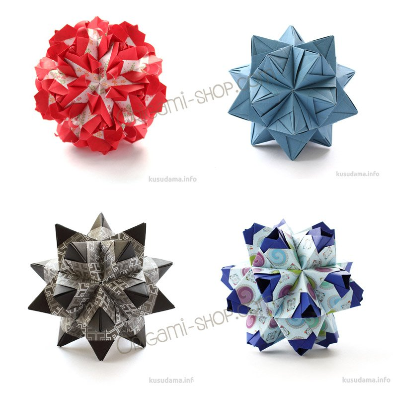 How to Make a Kusudama Flower (with Pictures) - wikiHow | 800x791