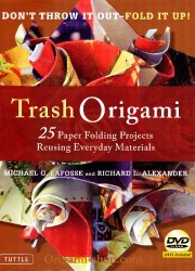 book Trash Origami with DVD Michael G. LAFOSSE in english