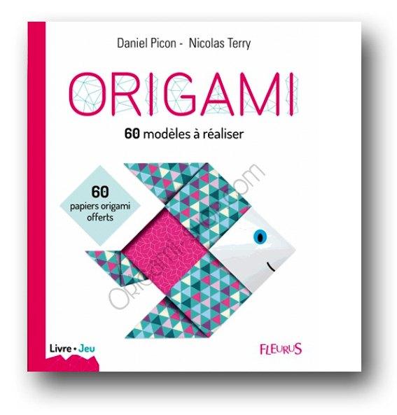 Livre Origami 75 Modèles à Plier 60 Papiers Offerts Nicolas Terry