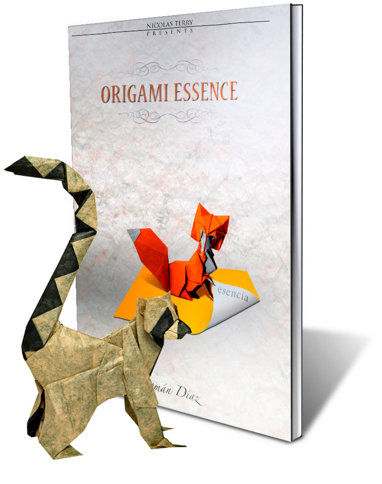 Origami Book Essence Roman Diaz In English And Spanish