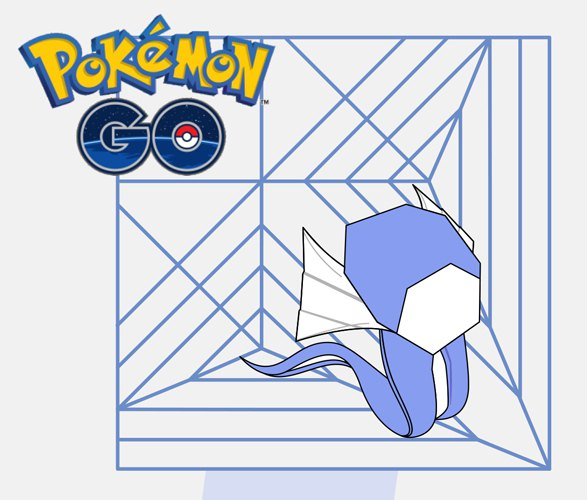 pokemon dratini by adilo toledo free diagram rh origami shop com Pokemon Origami Templates Pokemon Origami Munchlax
