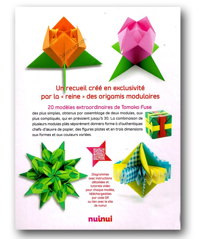 Origami Le origami modulaires d exception