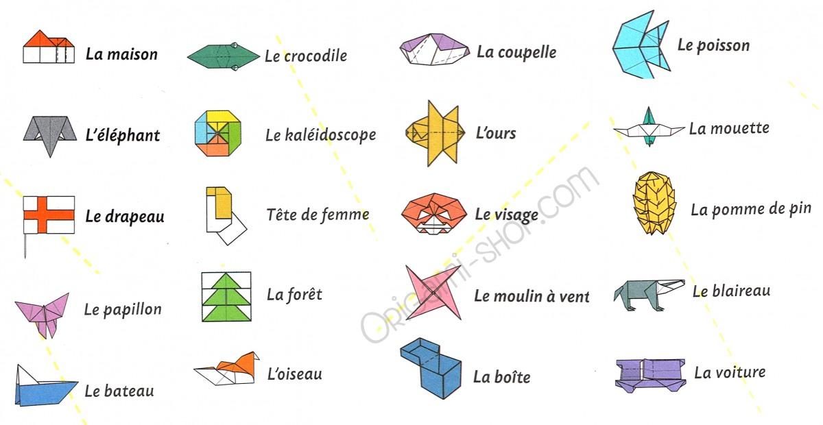 Origami Le origami book 100 origami sheets