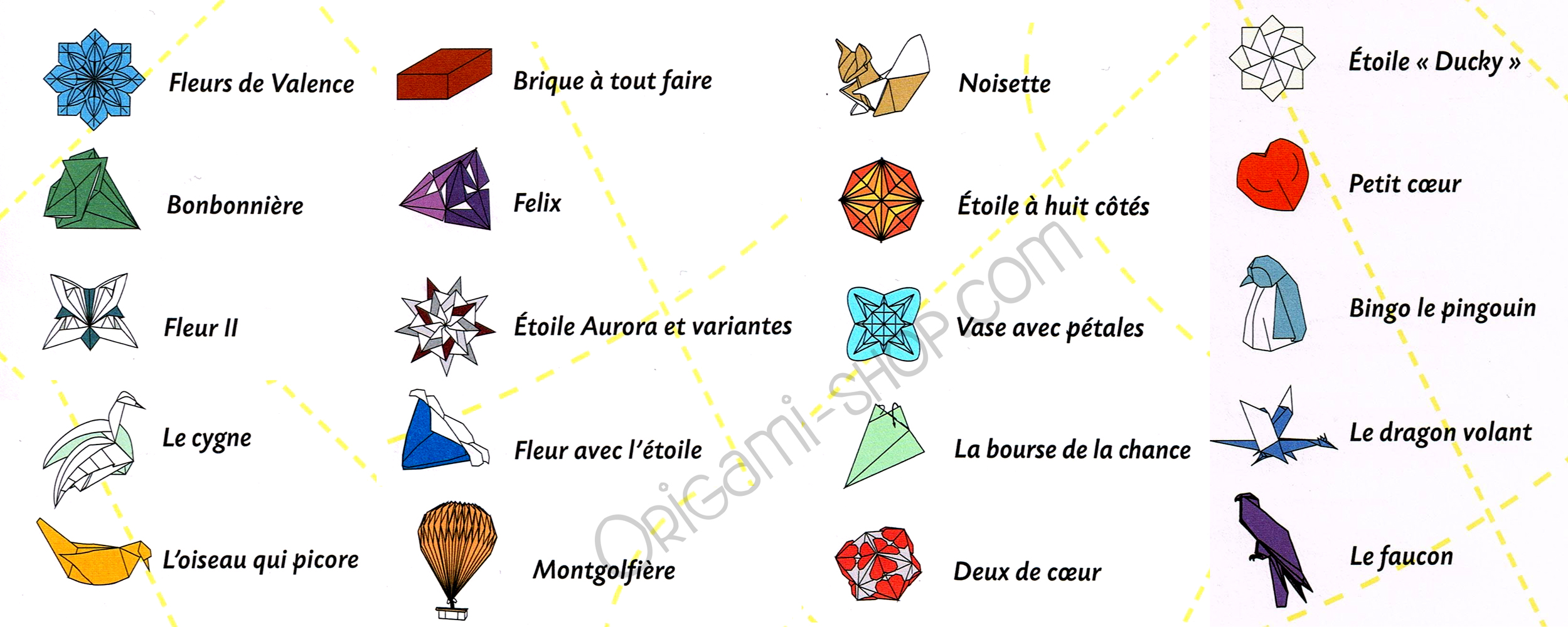 Origami Le origami the touch book 100 origami sheets