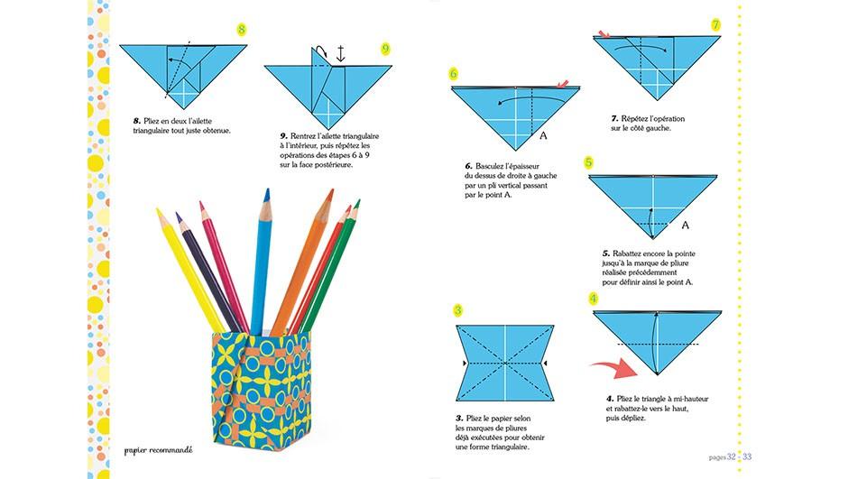 origami facile en francais