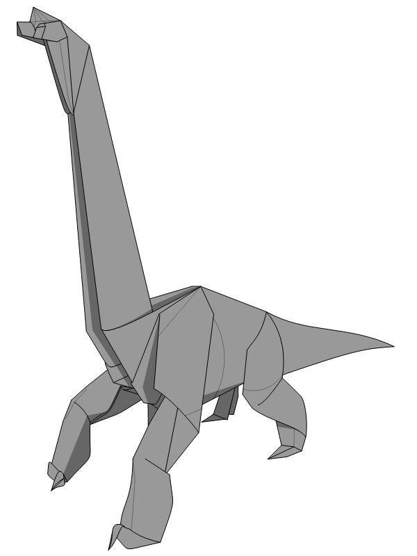 Brachiosaurus Second Design E Book Edition