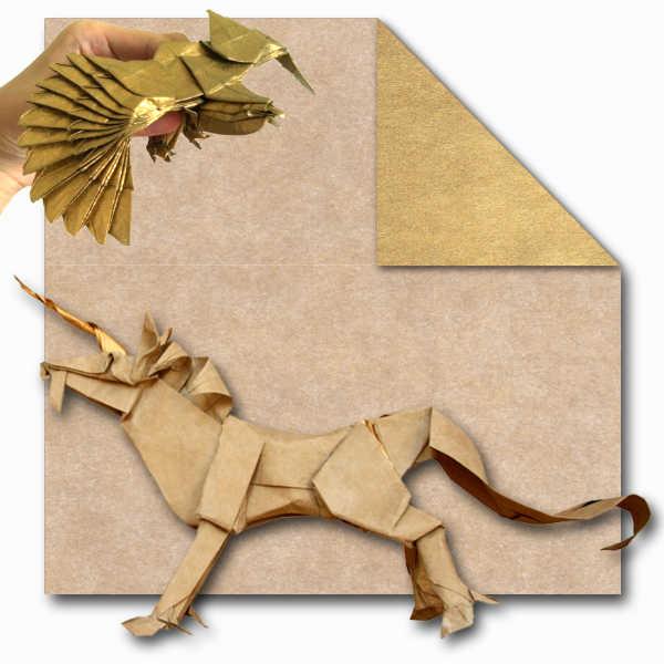 Tissue foil Gold Unicorn 1361447416 1