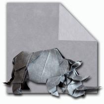Papier de soie métallisé Argent 40x40 cm origami scrapbooking Thaïlande