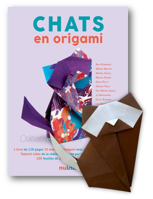 Chats En Origami Livre 100 Feuilles Origami
