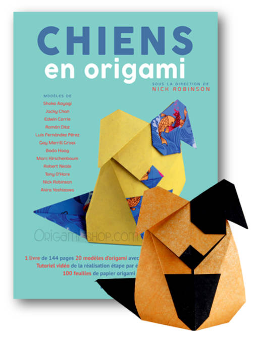 Chiens En Origami Livre 100 Feuilles Origami