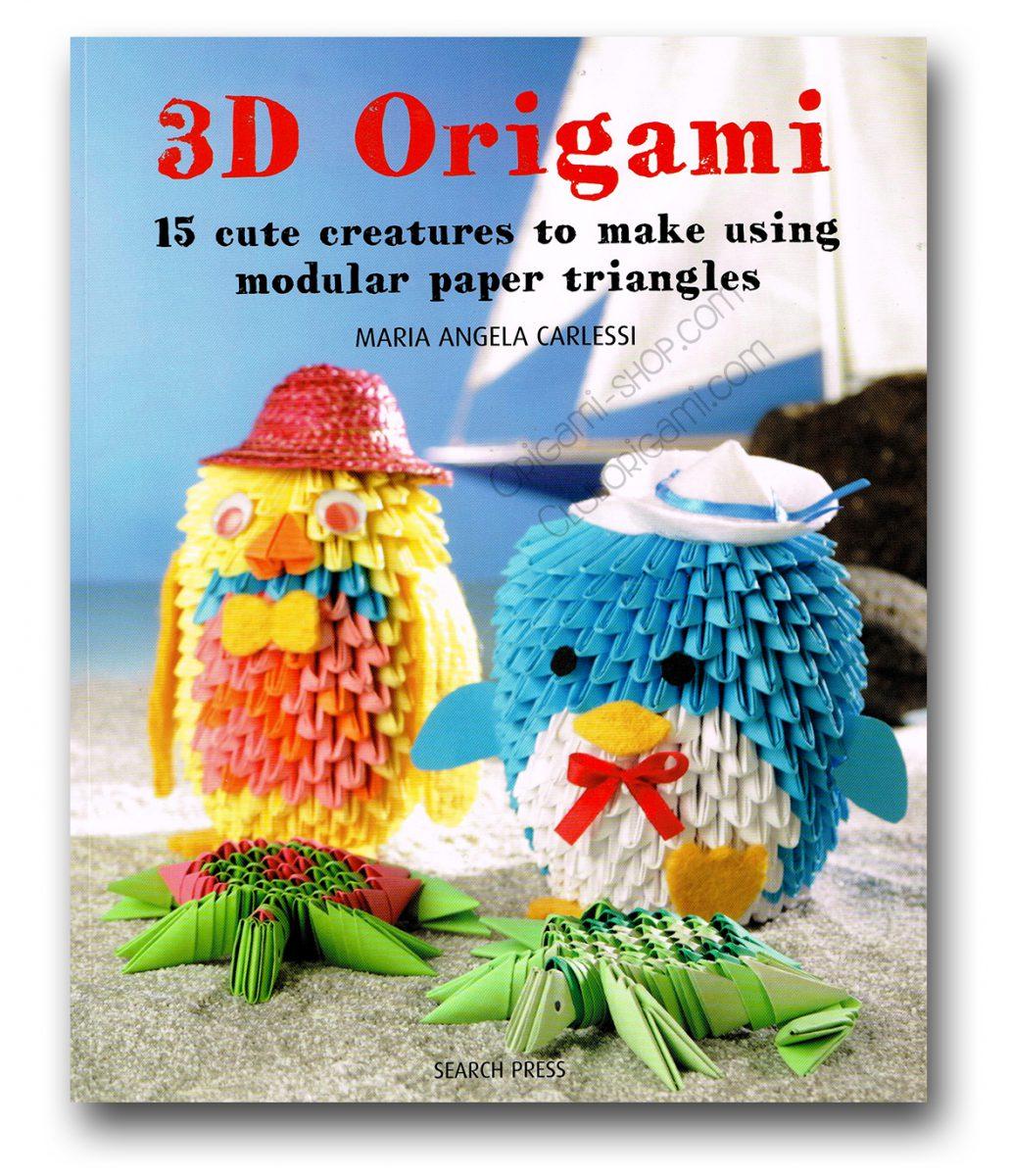 3d origami 15 cutes creatures to make 3d origami by ikuko okada jeuxipadfo Gallery