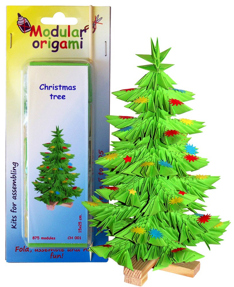 3d Origami Chinese Modulars Rh Shop Com Christmas Tree Instructions Palm