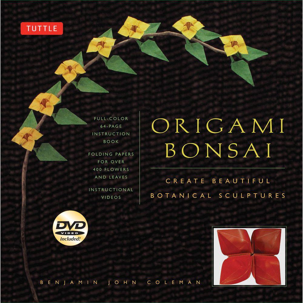 kit origami bonsai