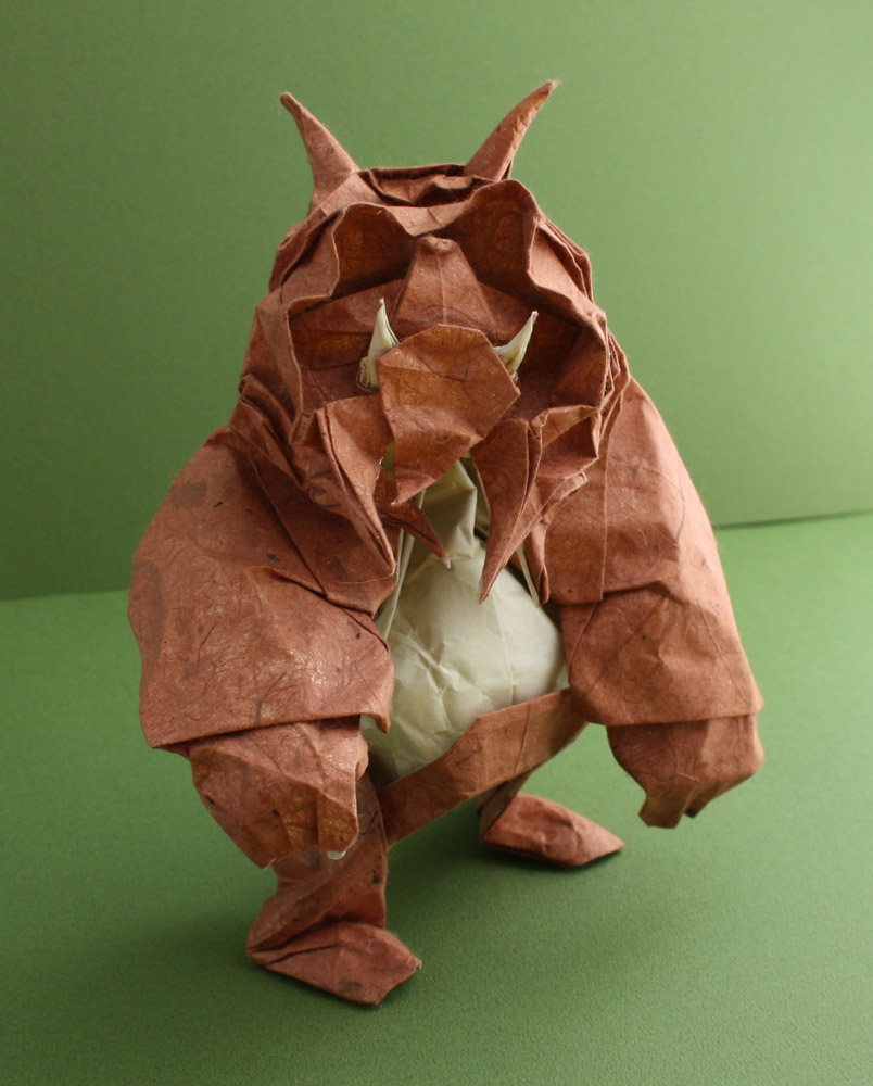 Troll create and fold By Nicolas TERRY http://www.passion-origami.com