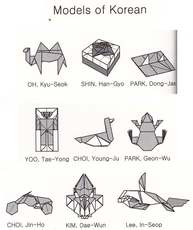 list of synonyms and antonyms of the word korean origami