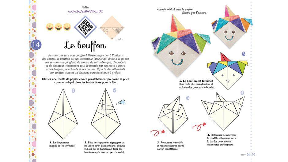 Origami Magique Facile Et Pour Les Enfants