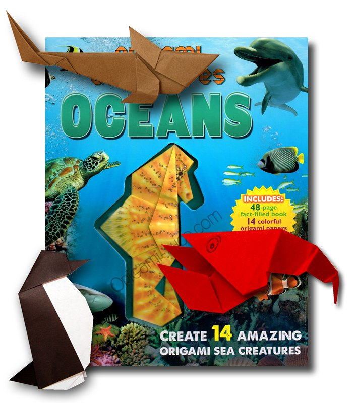 Origami Adventures Oceans Dedicace De L Auteur Possible