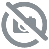 DUO Marron Or / Blanc - 1 feuille - 90 g/m² - 40x40 cm